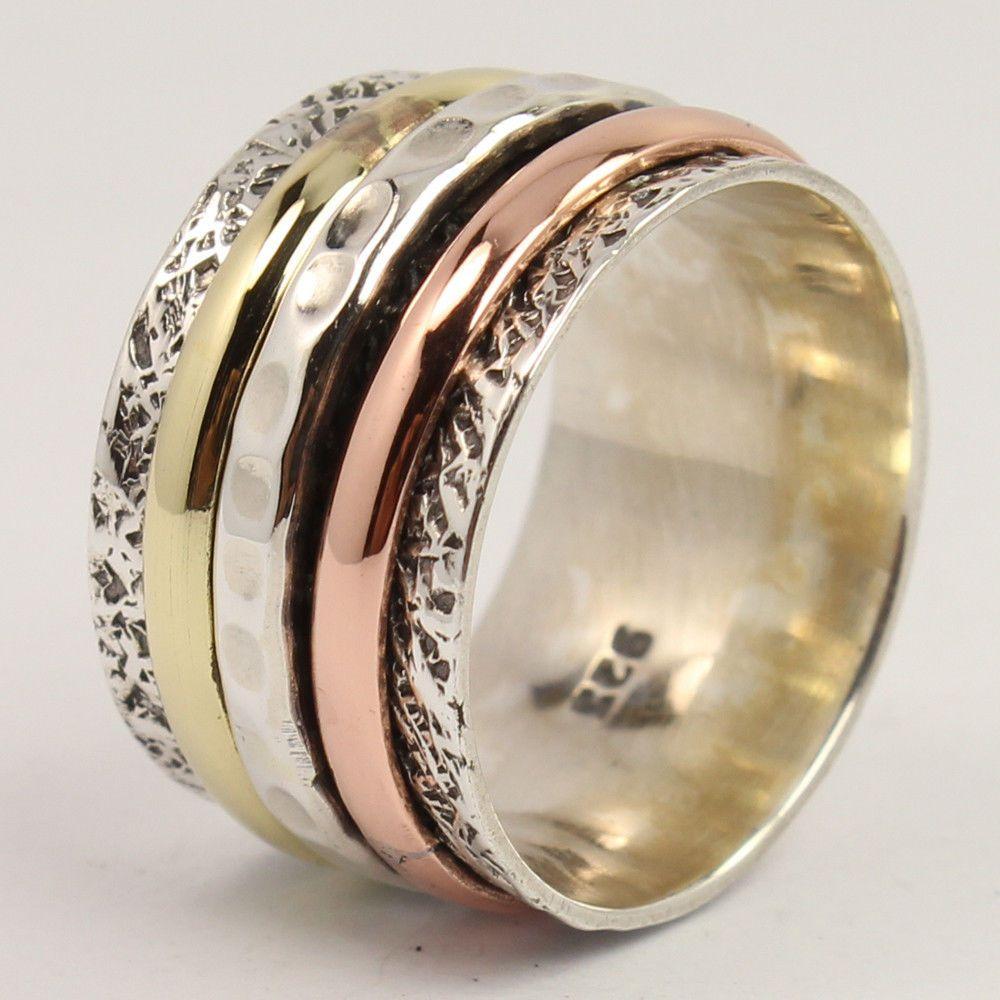 Vintage 925 Silver Black Onyx Gemstone Wedding Engagement Jewelry Ring Wholesale