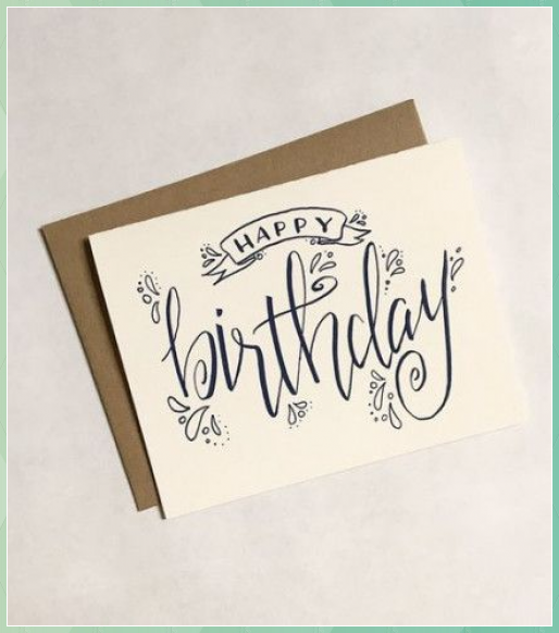 57 Super Ideas For Birthday Card Ideas Design Pro Paper Quilling Designs Disney Hand Lettering Cards Calligraphy Birthday Card Birthday Card Drawing