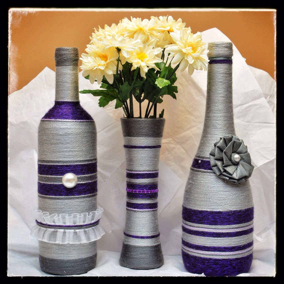 Purple and Grey Set
