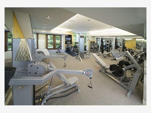 Home Gym - Home and Garden Design Idea\'s | Home Gyms | Pinterest ...