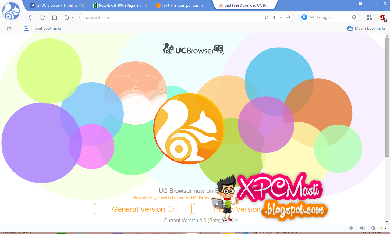 Download UC Browser For PC 100% Working Free at XPCMasti