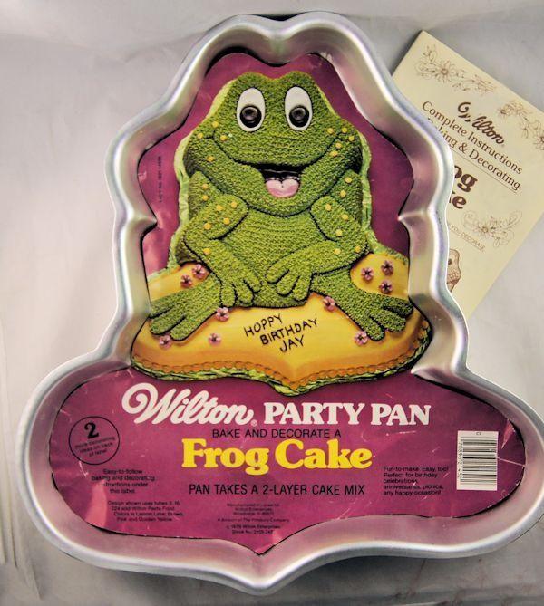 Wilton Frog Cake Pan 502 1816 Wilton Cake Pans In 2019