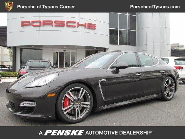 Porsche Tysons Corner >> 2010 Porsche Panamera Turbo Carbon Grey Metallic Vienna