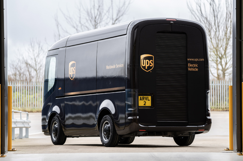 Ups Delivery Vans Get Electric Makeover By Arrival