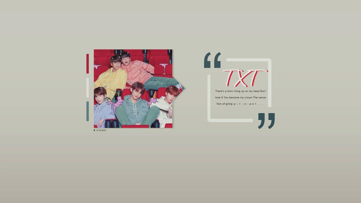 Txt Wallpaper By Nthwbt On Deviantart Wallpaper Laptop Wallpaper Wallpaper Pc