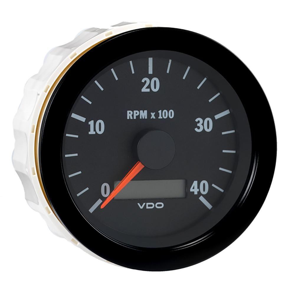 VDO Vision Black 4,000 RPM 3-3-8 | Products | Vdo gauges ... on