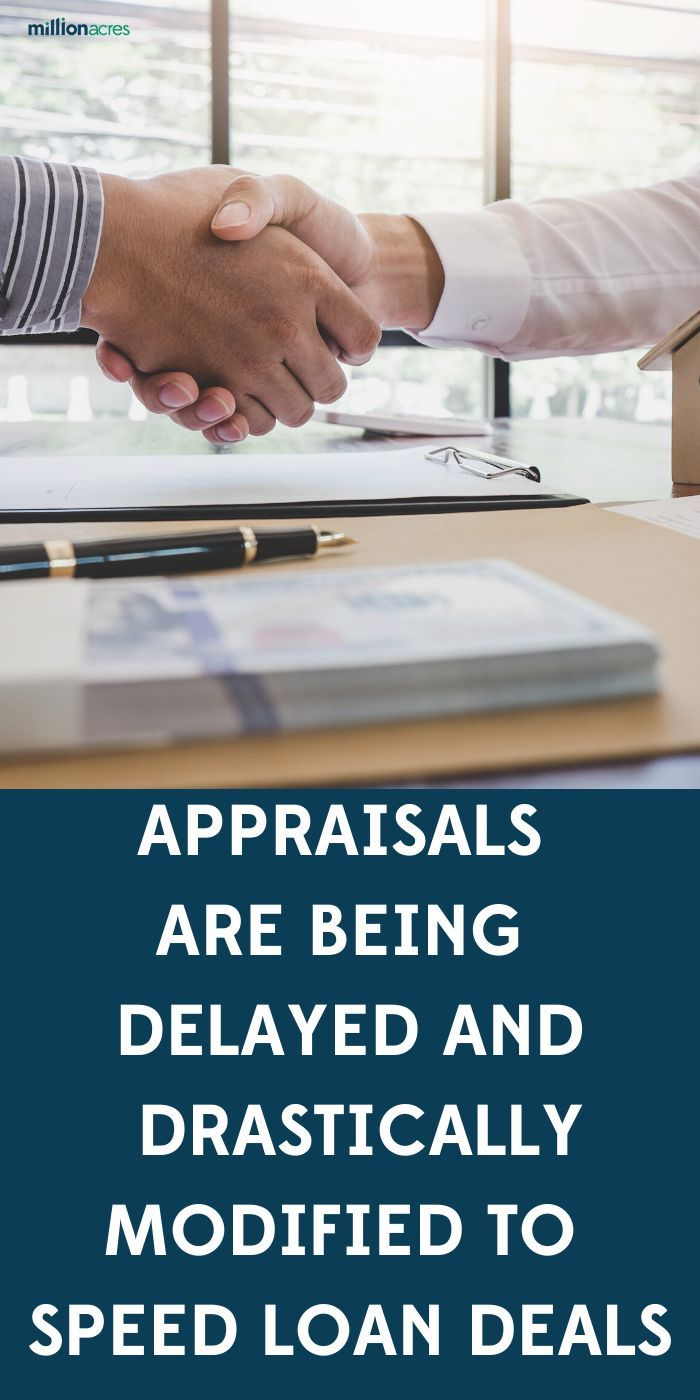 Appraisals Are Being Delayed and Drastically Modified to Speed Loan Deals. Federal regulators give 120-day grace period to appraisals during pandemic. #appraisals #delayed #modified #speed #loan #deals #graceperiod
