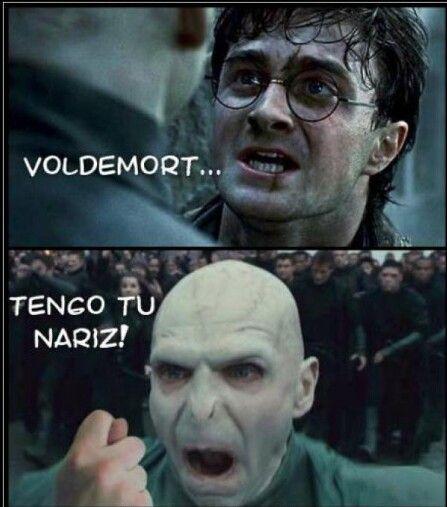 Voldemort Tengo Tu Nariz Harry Potter Memes Hilarious Harry Potter Memes Harry Potter Funny