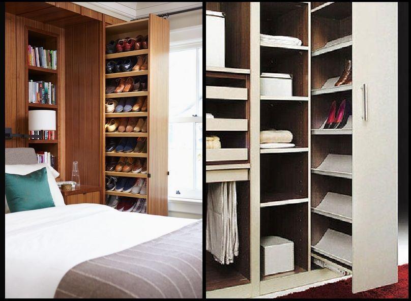 0 guardar e organizar calçados -porta