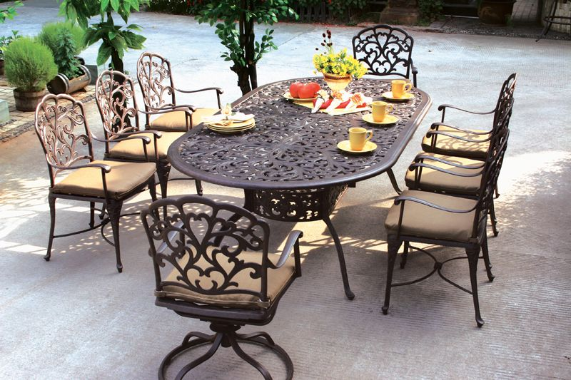 Catalina Eight Chair Dining Set With Series 80