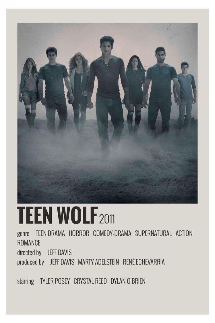 Teen Wolf Vintage Poster