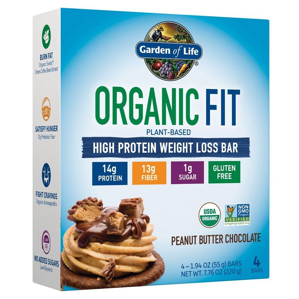 Garden of Life Organic Fit Protein Bar Peanut Butter