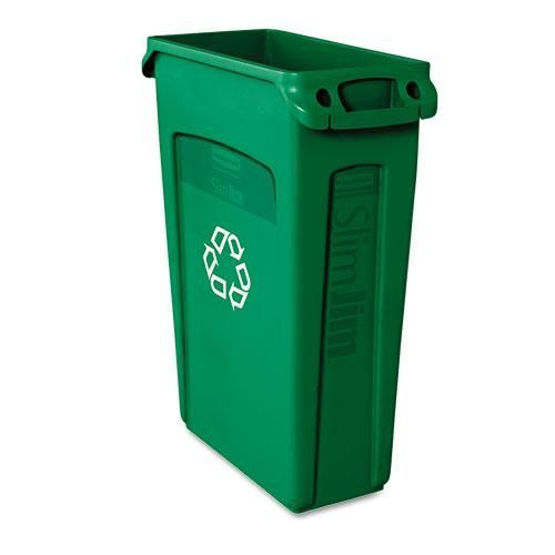 Rubbermaid 'Slim Jim' Vented Recycling Container