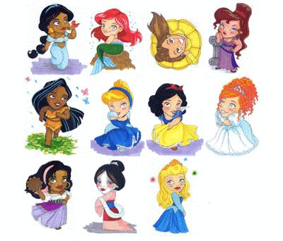 pequeños personajes disney para imprimir-Imagenes y dibujos para ...