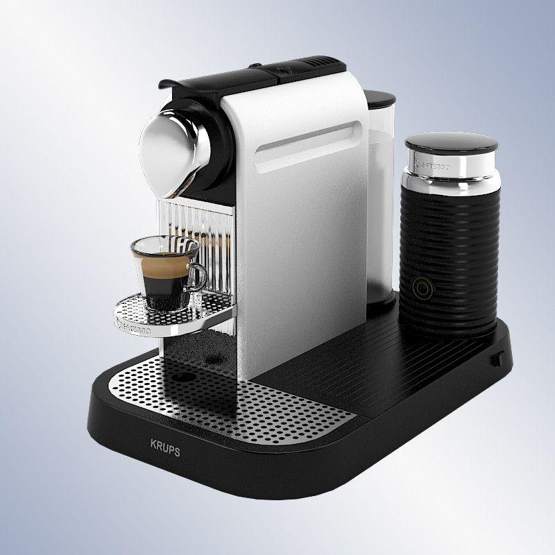 Krups Xn 7102 Nespresso 3D Model - 3D Model | 3D-Modeling ...