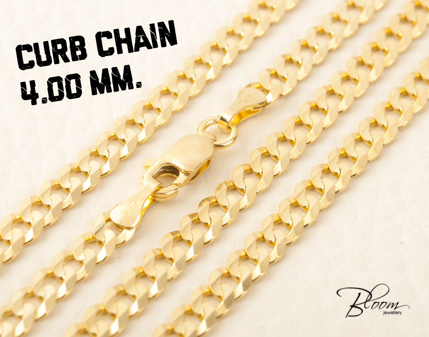 Mens gold chain necklace k solid gold curb chain for men gold