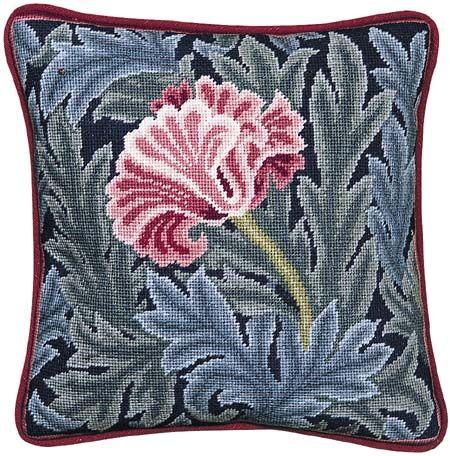 Beth Rus William Morris Tulip Pillow Picture Kit Needlepoint Pillows