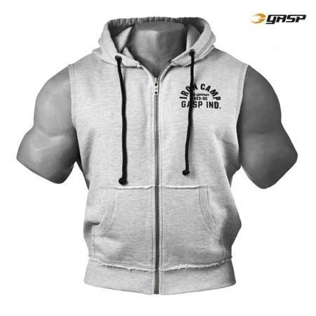 gasp sleeveless hoodie
