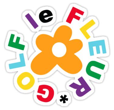 Golf Le Fleur Sticker By Pancracio Tyler The Creator Golf Le Fleur Flower Outline
