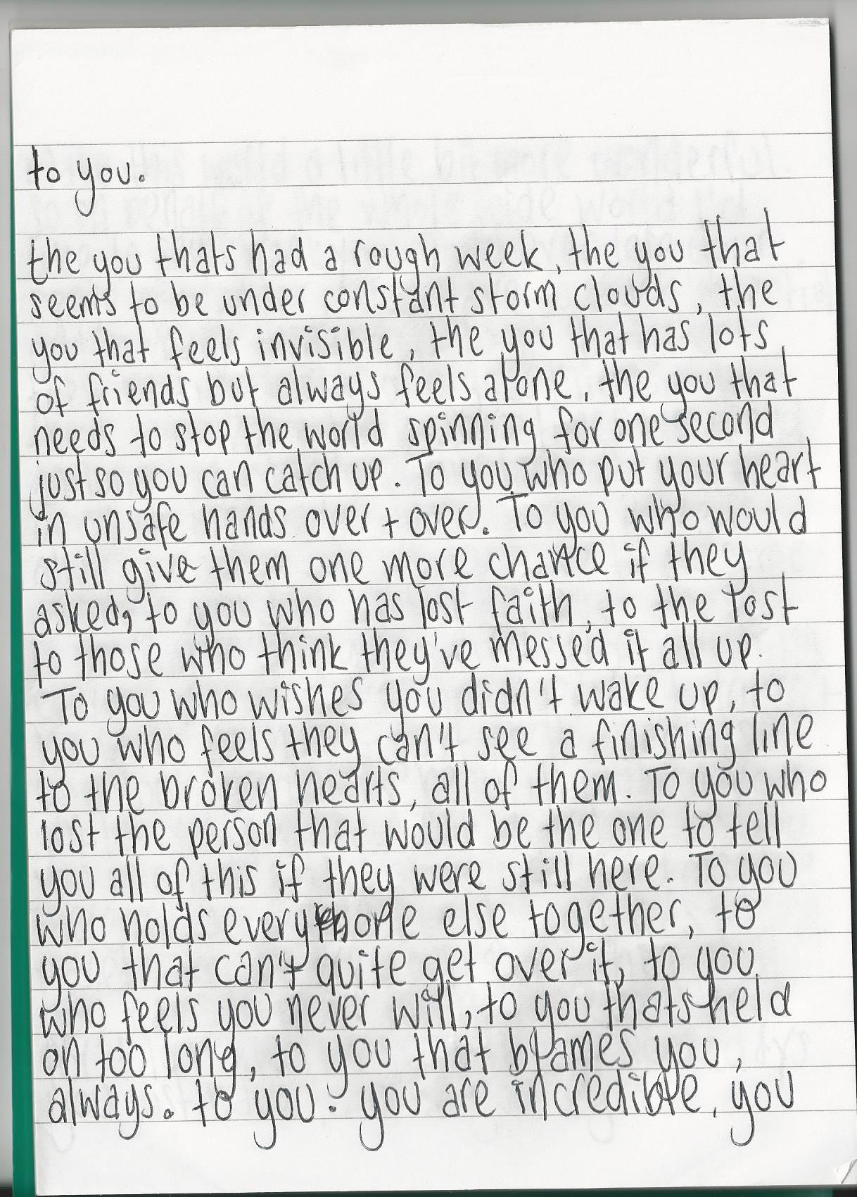 Love Letter To Best Friend : letter, friend, Incredible,, #Poem, Letters, Boyfriend,, Notes, Boyfriend