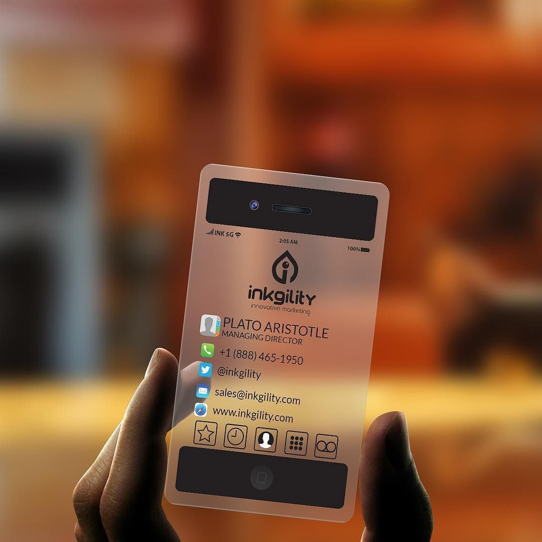 $65 for 200 of these innovative business cards from @inkgility The ...