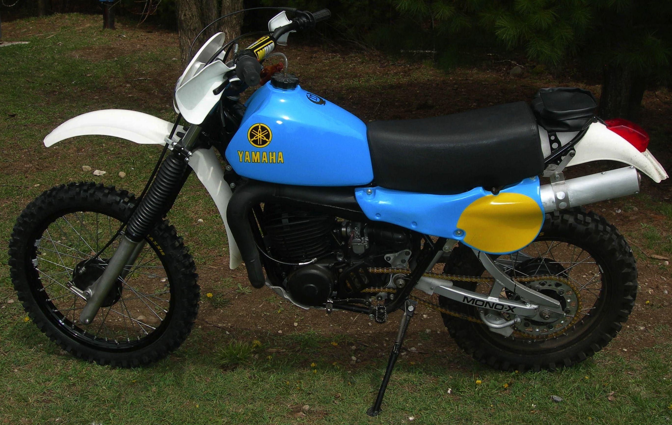 The 1978 Yamaha IT 400 endure dirt bike had a powerful