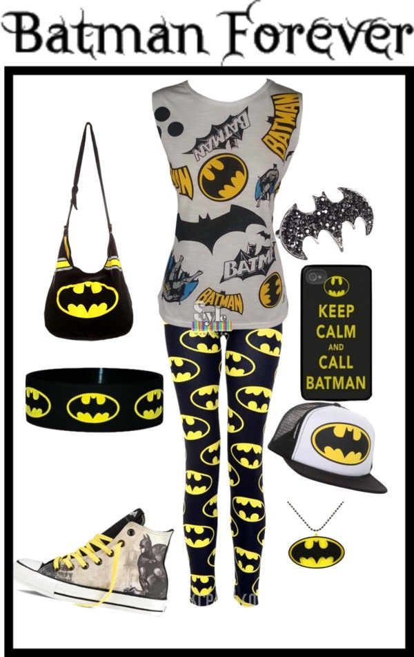 """""""batman"""" by kebrammer1 ❤ liked on Polyvore"""