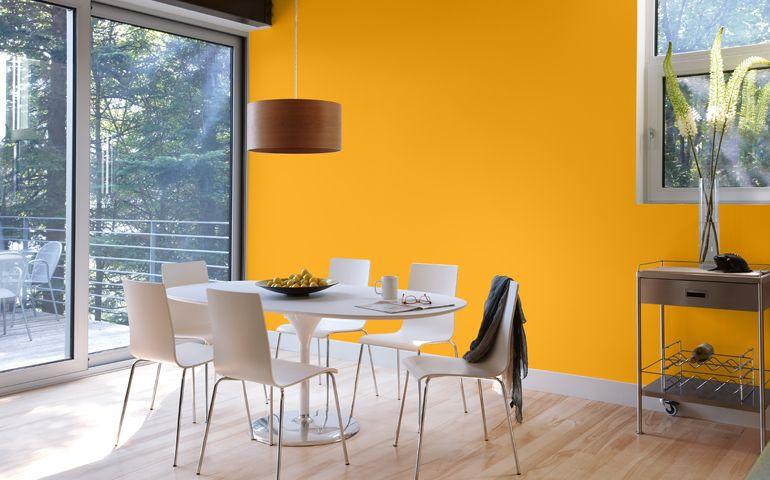 Peinture Orange  Psychologie de la Couleur Sico Peinture - repeindre du papier peint