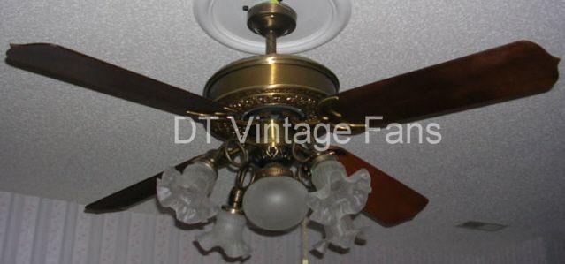 Late 1970s Casablanca Victorian Ceiling Fan Victorian Ceiling Fans Ceiling Fan Ceiling