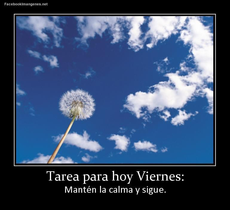 Imagen de http://www.facebookimagenes.net/thumb-grande/carteles/tarea-para-hoy-viernes-4858.jpg.