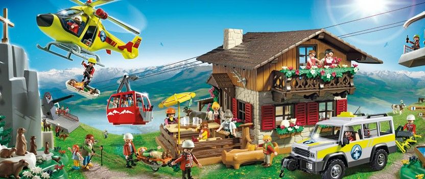 playmobil ski lifts now available - Playmobil Ski