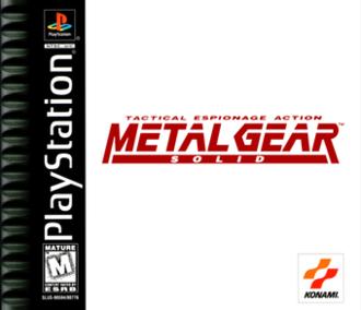 Metal Gear Solid Konami Computer Entertainment Japan 1998 In 2020 Metal Gear Metal Gear Solid Metal Gear Games