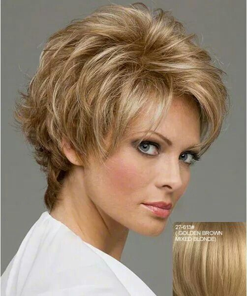 Short Wavy Hairstyles Ese : 25 short hairstyles for older women bob hair with awesome layers