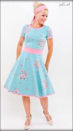 Kleid a linie nahen freebook
