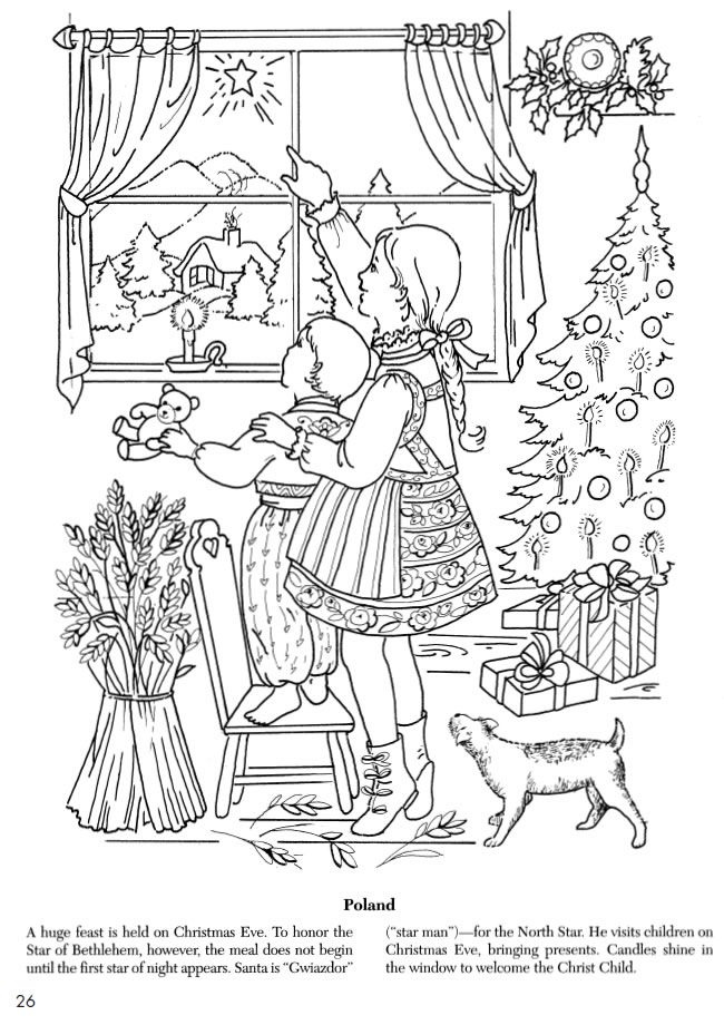 Welcome to Dover Publications--Giant Christmas Coloring and Activity ...