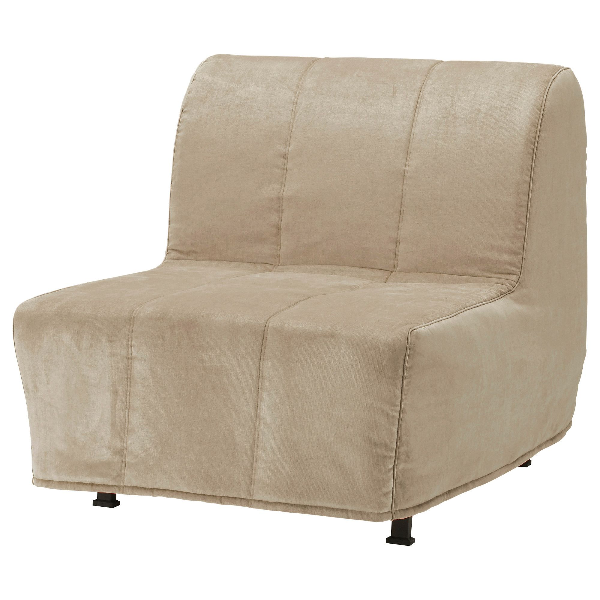 ikea lycksele sofa bed orange inflatable sofas and chairs lÖvÅs chair henån beige loft beds