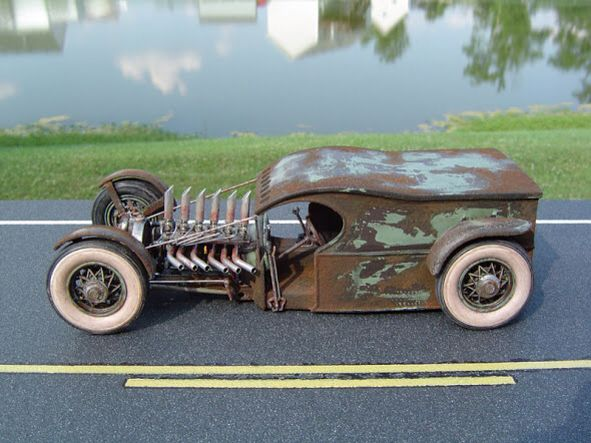 This model car is my inspiration for this build