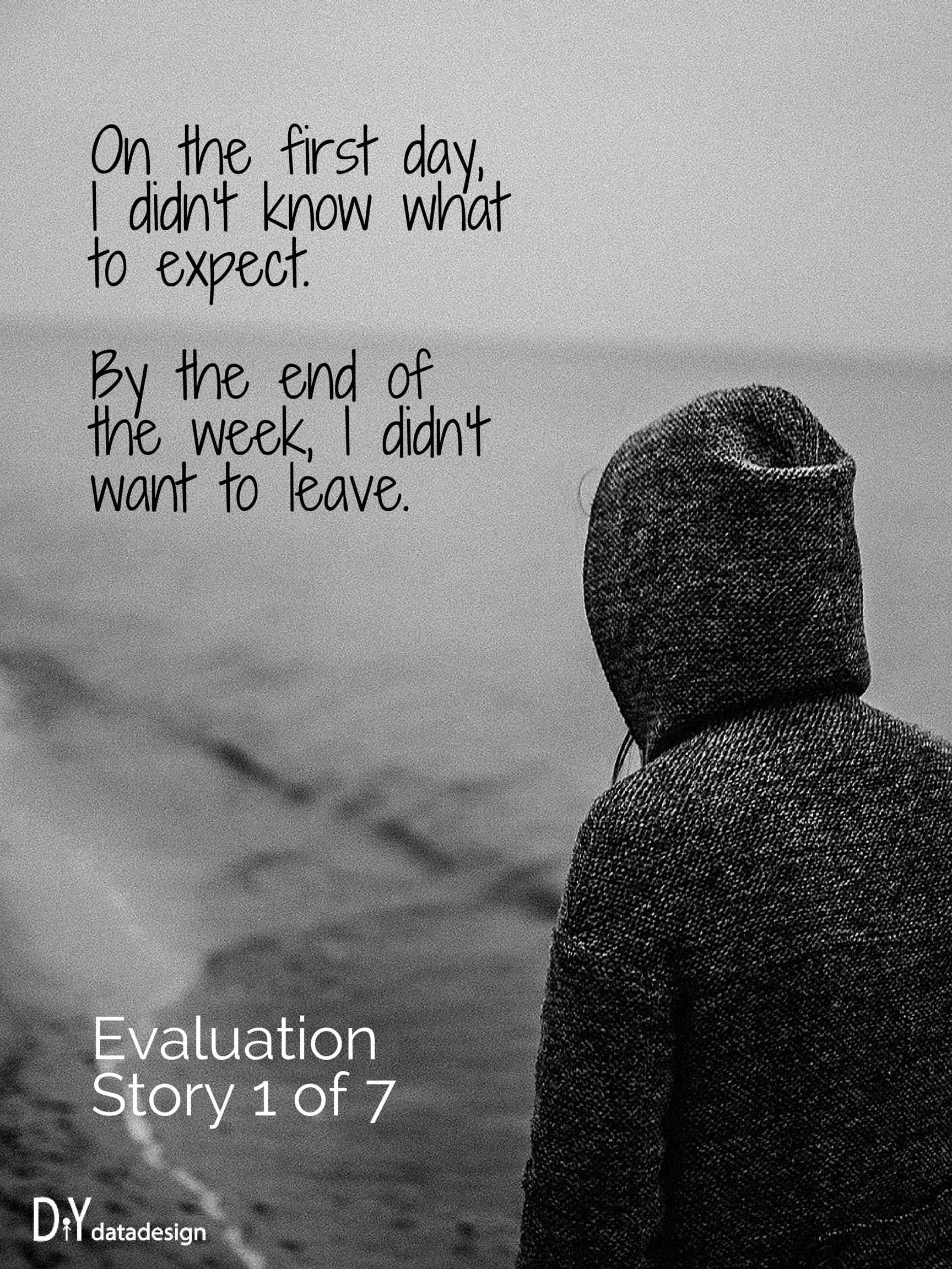 Qualitative poster design - Creative Challenge Qualitative Story Poster Design Diydatadesign