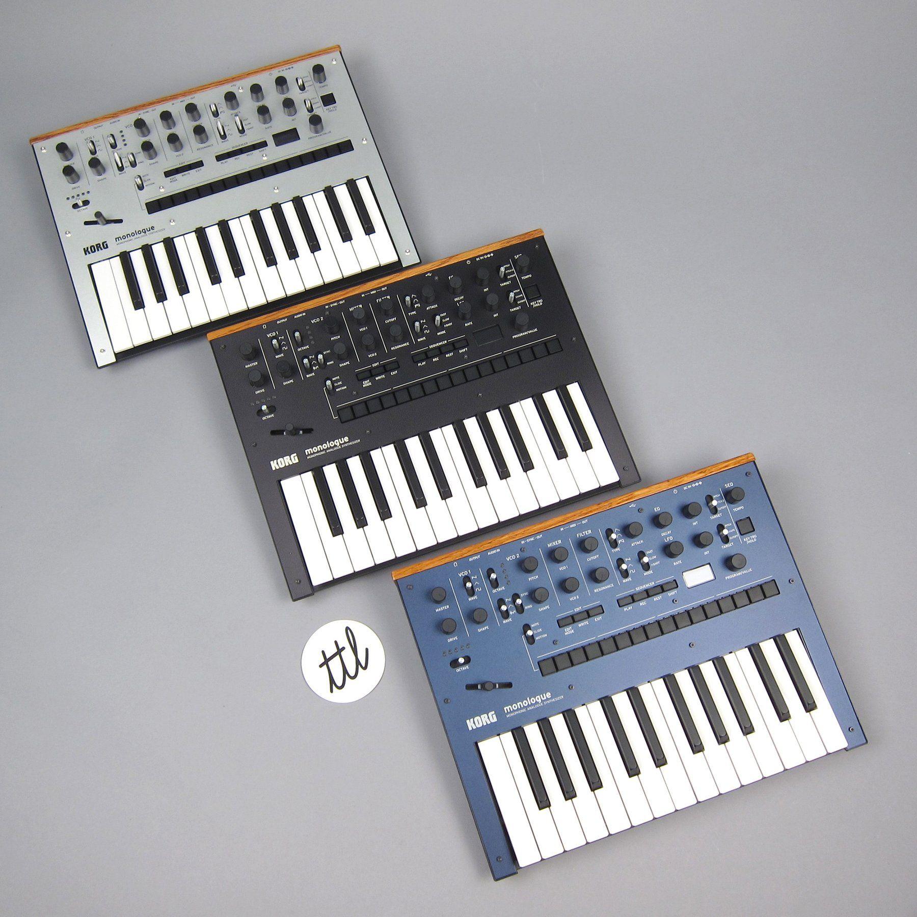 korg monologue monophonic analog synthesizer black music instruments etc in 2019 vintage. Black Bedroom Furniture Sets. Home Design Ideas