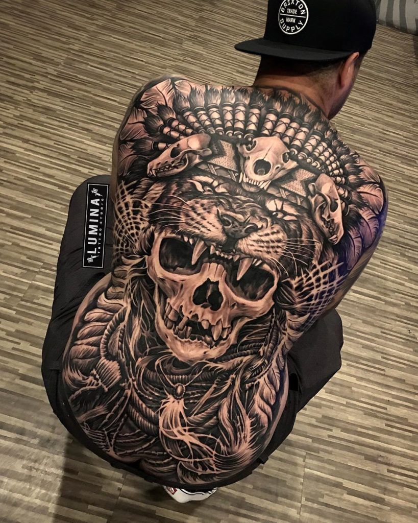 Die 30 besten Rücken Tattoos 2020   Männer rücken tattoos