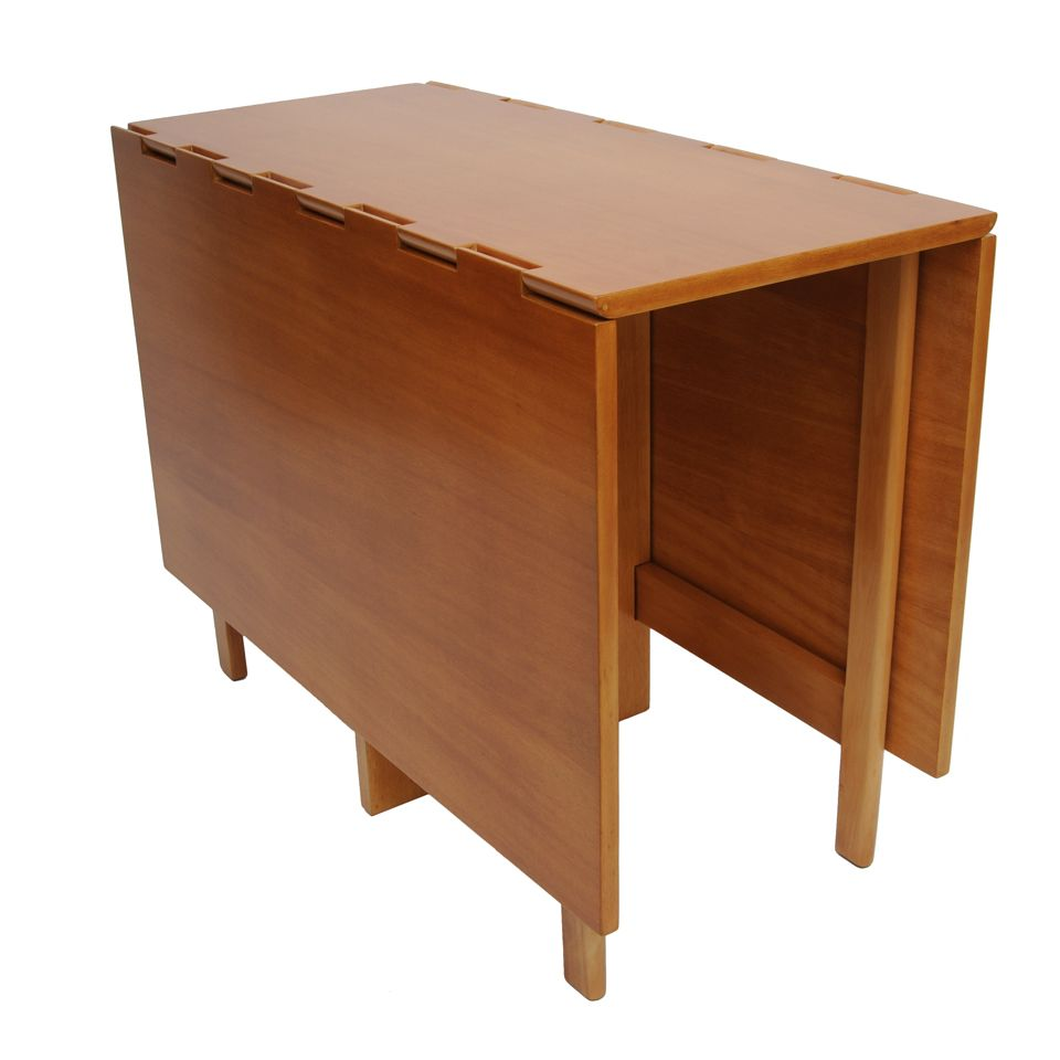 Extremely Versatile This Drop Leaf Table By George Nelson And
