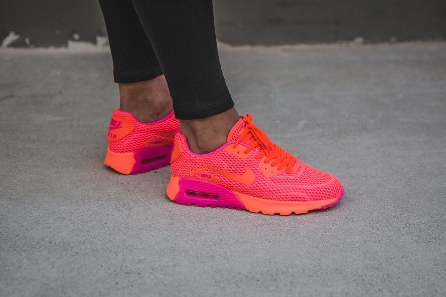 Nike WMNS Air Max 90 Ultra BR (orange rosa) 725061 800