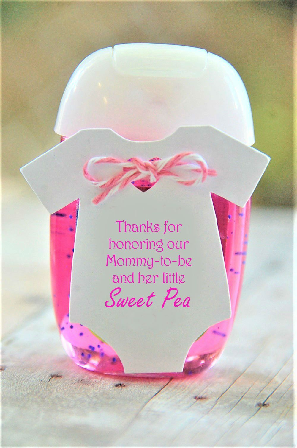 PRINTABLE Thanks for honoring our Mommytobe and her