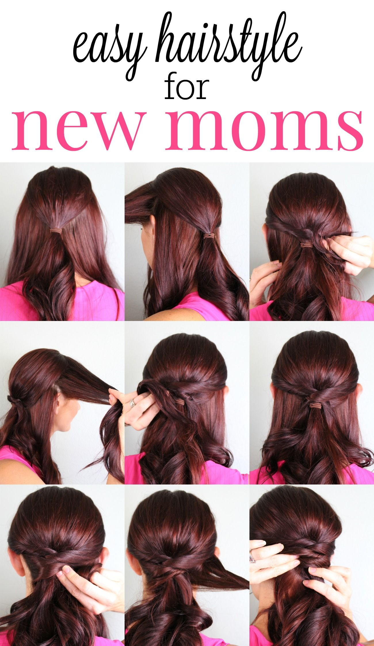 The New Mom How To Hairstyle