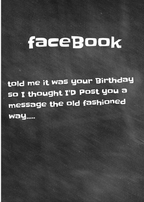 Belated Birthday Card Facebook Humour Send free cards here – Send a Birthday Card on Facebook for Free