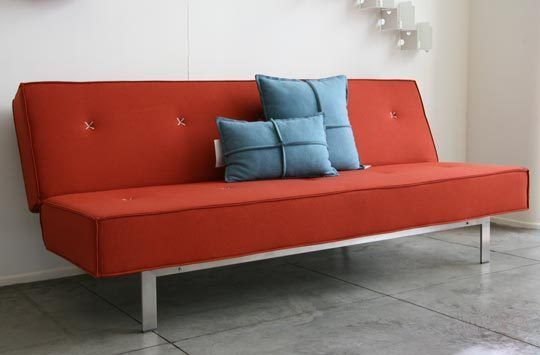 Flat Out Sofa Sleeper By Blu Dot Mid Century Modern Sofa Bed Modern Sofa Bed Blu Dot Sofa