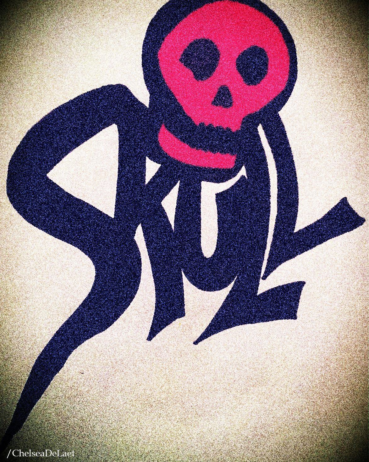Playing around with Sharpies.. Logo design setup example. #Logo #Typography