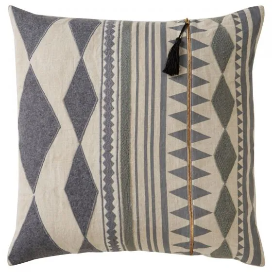 Cosmic Cnk19 22 Inch Geometric Throw Pillows Linen Pillow Covers Linen Throw Pillow
