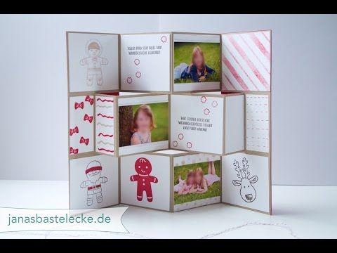 Janasbastelecke Kreativer Montag 81 Mini Flip Book Karte Su
