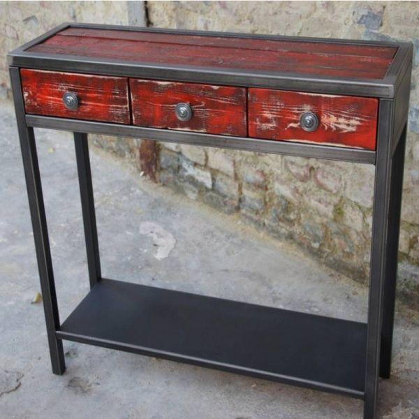 Meuble Bas Metal Meuble Tv Ou Console Basse Console Bois Metal Console Bois Console Meuble